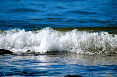 Wave rolling Royalty Free Stock Photo