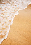Wave Sand Background Stock Images