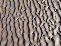 Wave of sand Royalty Free Stock Photo