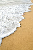 Wave sand Royalty Free Stock Photo