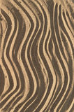Wave on sand. Seamless texture. Wave on sand Royalty Free Stock Photo