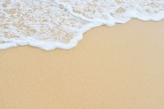 Wave sand texture Royalty Free Stock Image