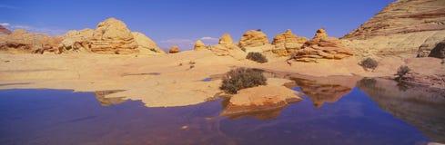The Wave, Sandstone Formation, Kenab, Utah Stock Images