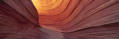The Wave, Sandstone Formation, Kenab, Utah Stock Photo
