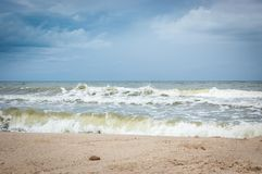 Wave of the sea Royalty Free Stock Photography