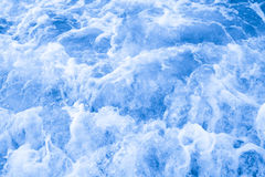 Wave of the sea on the sandy beach Stock Photography