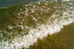 Wave sea water . Royalty Free Stock Photography