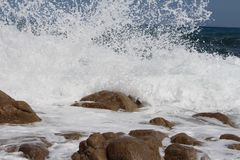 Wave, Sea, Wind Wave, Body Of Water royalty free stock photos