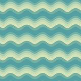 Wave seamless pattern Royalty Free Stock Images