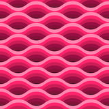 Wave seamless pattern. Royalty Free Stock Photo
