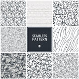 Wave seamless pattern Royalty Free Stock Photography