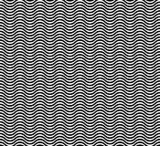 Wave  seamless pattern Stock Photos