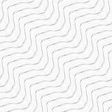 Wave seamless patterns. Stock Images