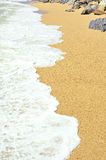 The wave on a seashore Stock Images