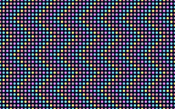 Wave series of colored dots. Royalty Free Stock Photo