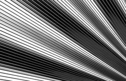 Wave shape silver metal background. 3d illustration Stock Photo
