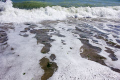 Wave si è rotto Immagini Stock