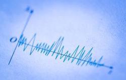 Wave Signals Stock Image