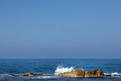 Smashing Wave in Sea Royalty Free Stock Photography