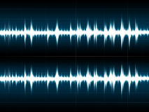 Wave Sound Royalty Free Stock Photo