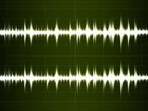Wave Sound Stock Photo
