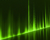 Wave Sound. Graphic of a digital sound. Abstract Background Stock Photo