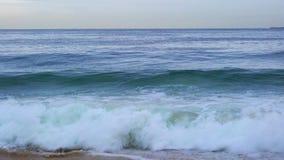 Wave of South Pacific Ocean. At Rio de Janeiro Beach, Brazil 4K Ultrahd stock video footage