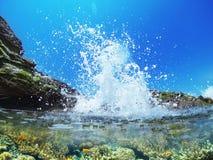 Wave splash Royalty Free Stock Photography