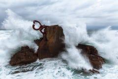 El peine del viento Stock Photo