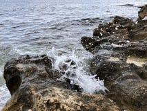 Wave splash royalty free stock image