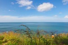 Panorama ocean view at Koh Lanta Krabi Thailand royalty free stock image