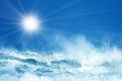 Wave Splashing Stock Photography