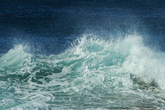 Wave spray details Royalty Free Stock Photos