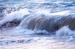 Wave in stormy ocean Stock Image