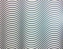 Wave strip pattern Royalty Free Stock Photos