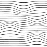 Wave stripe background. Simple texture for your design. Vector illustration. Stock Image