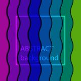 Wave Striped Rainbow Color Background. Wave Rainbow Color Background Royalty Free Stock Image