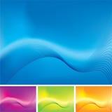 Wave stroke variation Royalty Free Stock Image
