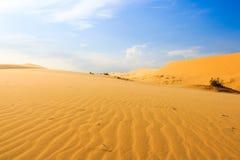 Wave sul deserto a Mui Ne, Vietnam del sud Fotografia Stock