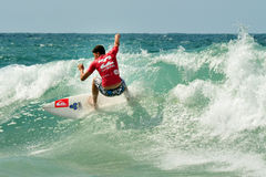 Wave surfer Stock Photography