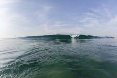 Wave Surfer Escapes Stock Image