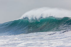 Wave Swells. Ocean wave swells water power from weather storms Stock Images
