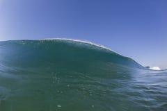 Wave Swimming Landscape Stock Photo