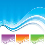 Wave Template stock illustration