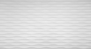 Wave texture wall in white Stock Photos