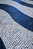Wave Tiles in Senate Square - Macau, China Royalty Free Stock Images