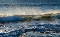 Wave towards the shore Stock Photos