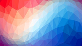 The wave of triangles of different colors. Raster . Stock Photos