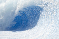 Wave tunnel. Big wave tunnel for surfing Stock Photos