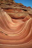 The Wave Up Close. Vermilion Cliffs royalty free stock photos